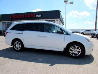 Used 2012 Honda Odyssey EX 8 PASSENGER DVD CAMERA BLUETOOTH CERTIFIED for sale in Milton, ON