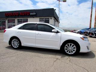 Used 2014 Toyota Camry XLE CAMERA SUNROOF LEATHER BLUETOOTH CERTIFIED for sale in Milton, ON