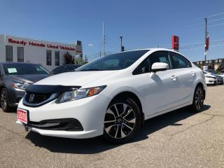 Used 2015 Honda Civic Sedan EX - Sunroof - Lane watch - Rear Camera for sale in Mississauga, ON