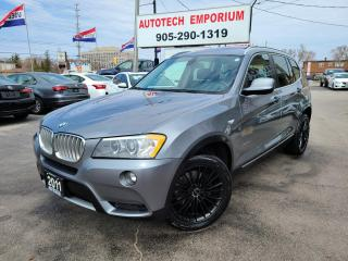 Used 2011 BMW X3 Xdrive 28i  Sunroof/Leather/Parking Sensors&GPS* for sale in Mississauga, ON