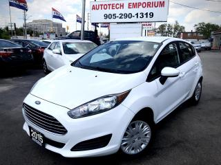 Used 2015 Ford Fiesta 5Sp Hatchback Bluetooth/Power Locks for sale in Mississauga, ON