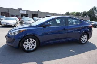 Used 2016 Hyundai Elantra GL AUTO SEDAN CERTIFIED 2YR WARRANTY *FREE ACCIDENT* HEATED SEATS BLUETOOTH AUX for sale in Milton, ON