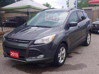 Used 2015 Ford Escape SE includes  a 6 month warranty, contact us for complete details, 519-7327478 for sale in Brantford, ON