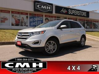 Used 2016 Ford Edge SEL  V6 AWD LEATH PANO NAV CAM P/GATE P/SEATS for sale in St. Catharines, ON