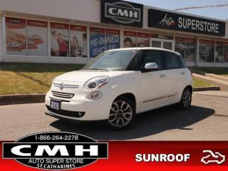 Used 2015 Fiat 500 L Lounge  NAV PANO-ROOF LEATH HS 5-TOUCH HS for sale in St. Catharines, ON