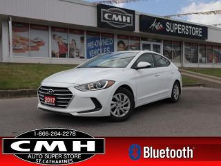 Used 2017 Hyundai Elantra LE  HEATED-SEATS BLUETOOTH AUTO PWR-GRP for sale in St. Catharines, ON