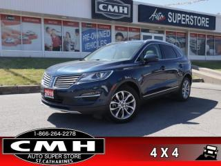 Used 2016 Lincoln MKC Select  AWD NAV PANO-ROOF P/GATE P/SEATS for sale in St. Catharines, ON