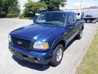 Used 2009 Ford Ranger Sport SuperCab 4-Door 2WD 5-Speed Manual for sale in Burnaby, BC