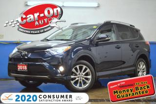 Used 2018 Toyota RAV4 Limited Platinum AWD LEATHER NAV SUNROOF LOADED for sale in Ottawa, ON