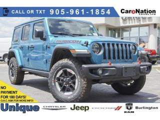 Used 2020 Jeep Wrangler Rubicon| 4X4| LEATHER| NAVI| DUAL TOP| for sale in Burlington, ON