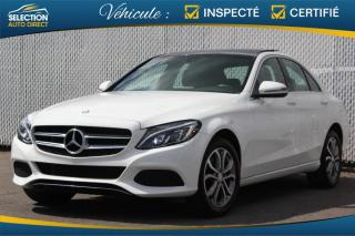 Used 2016 Mercedes-Benz C-Class C 300 4matic Toit Pano GPS for sale in Ste-Rose, QC