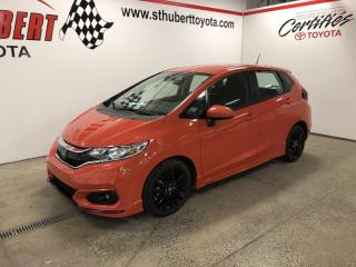 Used 2019 Honda Fit Sport w-Honda Sensing CVT for sale in St-Hubert, QC