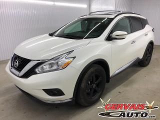 Used 2016 Nissan Murano SV AWD GPS Toit panoramique for sale in Trois-Rivières, QC