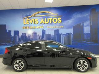 Used 2016 Honda Civic LX MANUELLE 6 VITESSES AIR CLIMATISÉ CAM for sale in Lévis, QC