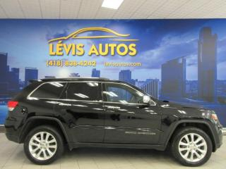 Used 2017 Jeep Grand Cherokee LIMITED GPS NAVIGATION CUIR CHAUFFANT CA for sale in Lévis, QC