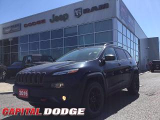 Used 2016 Jeep Cherokee Trailhawk for sale in Kanata, ON