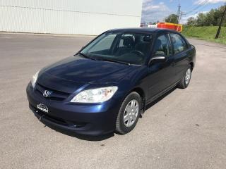 Used 2005 Honda Civic 4 portes DX, boîte automatique for sale in Quebec, QC