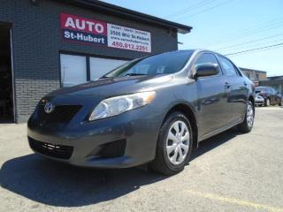 Used 2010 Toyota Corolla CE A/C for sale in St-Hubert, QC