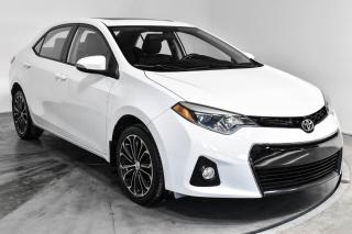 Used 2015 Toyota Corolla S  TOIT OUVRANT MAGS for sale in St-Hubert, QC