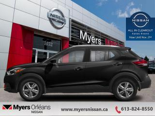 New 2020 Nissan Kicks S  -  Touch Screen - $123 B/W for sale in Orleans, ON