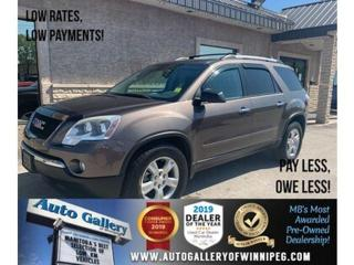 Used 2012 GMC Acadia AWD 4dr SLE1 for sale in Winnipeg, MB