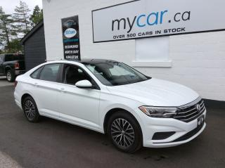 Used 2019 Volkswagen Jetta 1.4 TSI Highline LEATHER, SUNROOF, ALLOYS, HEATED SEATS, WOW!! for sale in Richmond, ON
