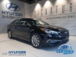 Used 2016 Hyundai Sonata GLS+CUIR+TOIT+CAMERA+BANCS CHAUFF for sale in Sherbrooke, QC