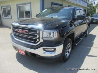 Used 2018 GMC Sierra 1500 LIKE NEW SLE EDITION 6 PASSENGER 5.3L - VORTEC.. 4X4.. CREW-CAB.. SHORTY.. NAVIGATION.. HEATED SEATS.. BACK-UP CAMERA.. BLUETOOTH SYSTEM.. for sale in Bradford, ON
