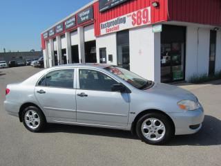 Used 2007 Toyota Corolla CE 5,995+HST+LIC FEE / CERTIFIED / SUNROOF for sale in North York, ON