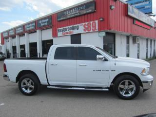 Used 2012 RAM 1500 LONG HORN $13,995 +HST +LIC FEE / CLEAN CARFAX REPORT/ 4X4/ 20; CHROME RIMS for sale in North York, ON