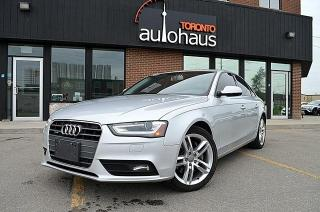 Used 2013 Audi A4 PREMIUM PLUS/NAVIGATION/LEATHER/SUNROOF Premium for sale in Concord, ON