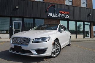 Used 2017 Lincoln MKZ RESERVE/PANORAMA/NAVI/CAM/LEATHER Reserve Hybrid for sale in Concord, ON