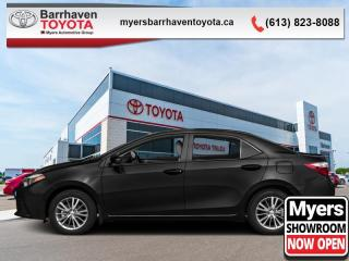 Used 2016 Toyota Corolla LE  -  Heated Seats -  Bluetooth - $95 B/W for sale in Ottawa, ON