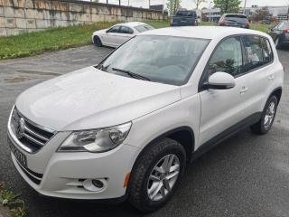 Used 2010 Volkswagen Tiguan TRENDLINE / AUTOMATIQUE / CRUISE / VITRE for sale in Sherbrooke, QC