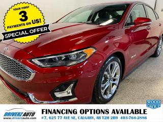 Used 2019 Ford Fusion Hybrid Titanium for sale in Calgary, AB