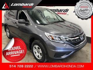 Used 2016 Honda CR-V LX|AUTOMATIQUE|CAM| for sale in Montréal, QC