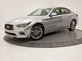 Used 2018 Infiniti Q50 2.0t LUXE AWD GPS TOIT OUVRANT for sale in Brossard, QC