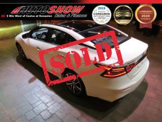 Used 2019 Nissan Maxima 3.5 SL *Htd Lthr, Pano Roof, CarPlay!* for sale in Winnipeg, MB