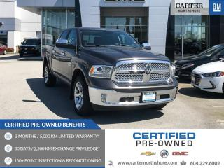 Used 2017 RAM 1500 Laramie NAVIGATION - MOONROOF - LEATHER - HEATED SEATS for sale in North Vancouver, BC
