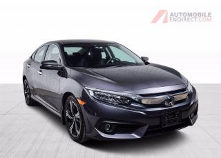 Used 2018 Honda Civic TOURING  CUIR TOIT NAV MAGS CAMERA DE RECUL for sale in St-Hubert, QC