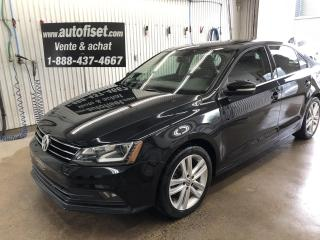 Used 2015 Volkswagen Jetta 1.8 TSI Auto Highline  cuir, toit $63.70/sem+taxe for sale in St-Raymond, QC