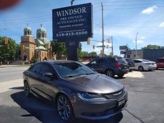 Used 2015 Chrysler 200 S for sale in Windsor, ON