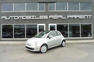 Used 2012 Fiat 500 CONVERTIBLE - AUTOMATIQUE - for sale in Québec, QC