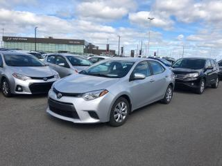 Used 2015 Toyota Corolla * 6900 KM * AIR * DÉMARREUR * for sale in Mirabel, QC