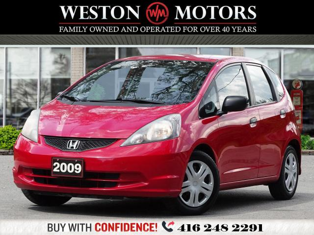 2009 Honda Fit DX-A*5 SPEED*POWER GROUP*CERTIFIED!!