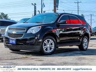 Used 2015 Chevrolet Equinox LS  - Bluetooth -  SiriusXM for sale in Etobicoke, ON