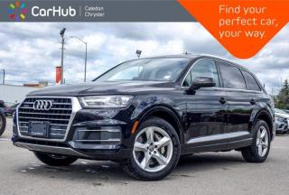 Used 2017 Audi Q7 3.0T Komfort AWD 7 Seater Navigation Panoramic Sunroof Backup Camera Bluetooth Leather Heated Front for sale in Bolton, ON