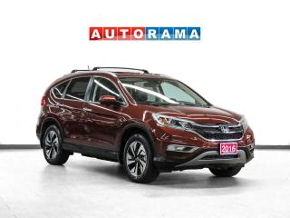 Used 2016 Honda CR-V Touring AWD Nav Leather Sunroof Bcam for sale in Toronto, ON