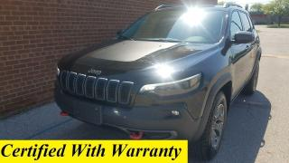 Used 2020 Jeep Cherokee Trailhawk-4x4-bluetooth-backup cam-4347KM for sale in Oakville, ON