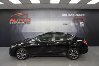Used 2015 Honda Civic EX AUTO TOIT OUVRANT MAGS CAMERA BLUETOOTH 97 685 for sale in Lévis, QC